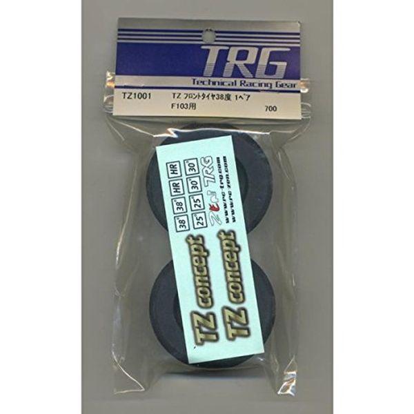 セントラルアールシー 海外限定 TZ フロントタイヤ 38度 TZ1001 RC ラジコンカー用パーツ 配送日時指定不可 出色 CENTRAL