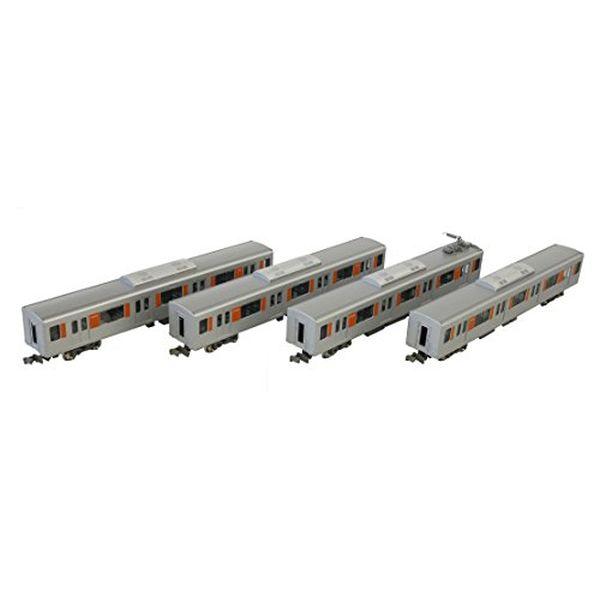 グリーンマックス Nゲージ 東武50000型 新ロゴマーク付き 増結用中間車4両セット 動力無し 30721 鉄道模型 電車