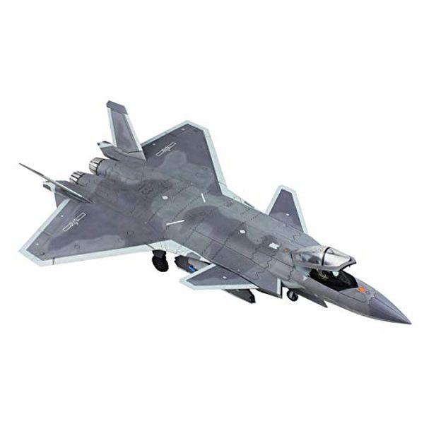 ドリームモデル 1/72 中国空軍 J-20戦闘機 プラモデル DM7210