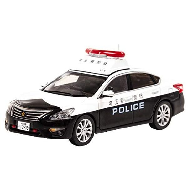 RAI'S 1/43 ニッサン ティアナ (L33) 2018 埼玉県警察地域部自動車警ら隊車両 (109) 完成品