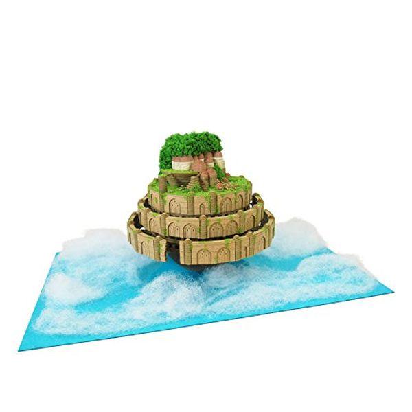 さんけい スタジオジブリシリーズ 天空の城ラピュタ ラピュタ城 ノンスケール MK07-33 ペーパークラフト