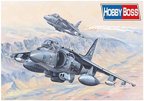 ホビーボス 1/18 エアクラフトシリーズ アメリカ軍 AV-8B ハリアー2 プラモデル 81804  【北海道・九州は300円、沖縄は2000円別途料金が加算されます】