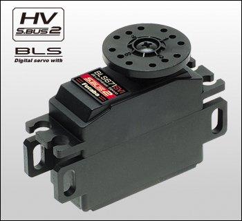 BLS671SV i 1/12 EP用脱着コネクター式サーボ S.BUS ブラシレス サーボ フタバ<025716>