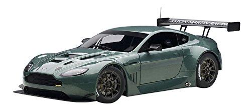 AUTOart 1/18 コンポジットモデル アストンマーチン V12 ヴァンテージ GT3 2013 (メタリック・グリーン) 【北海道・九州は300円、沖縄は1300円別途料金が加算されます】
