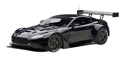 AUTOart 1/18 コンポジットモデル アストンマーチン V12 ヴァンテージ GT3 2013 (ブラック)
