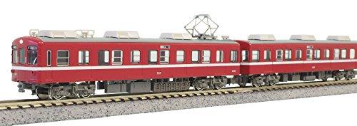 グリーンマックス Nゲージ 京急700形 2次車・黒幕車 増結4両編成セットB 動力無し 30236 鉄道模型 電車