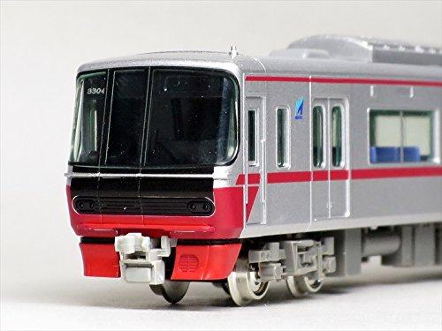 グリーンマックス Nゲージ 30611 名鉄3300系 (新塗装) 増結4両編成セット (動力無し)
