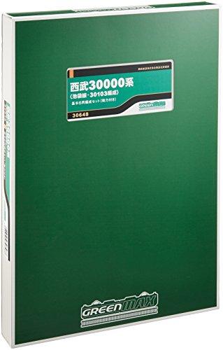グリーンマックス Nゲージ 西武30000系 池袋線 ・ 30103編成 基本6両編成セット 動力付き 30648