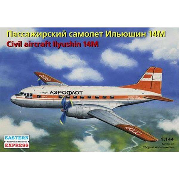 イースタンエクスプレス 1/144 イリューシン IL-14M アエロフロート/USSR航空 EE14474 プラモデル