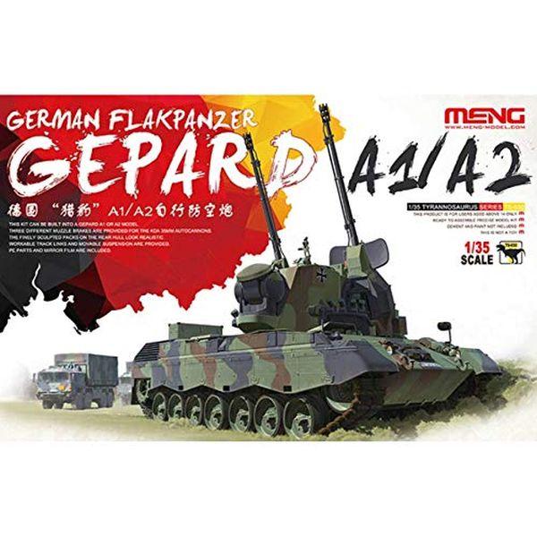 モンモデル 1/35 ドイツ連邦軍 ゲパルト自走対空砲 A1/A2 プラモデル MENTS-030