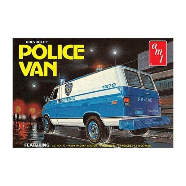 AMT 1/25 シェビー ポリスバン NYPD ニューヨーク市警察 プラモデル AMT1123