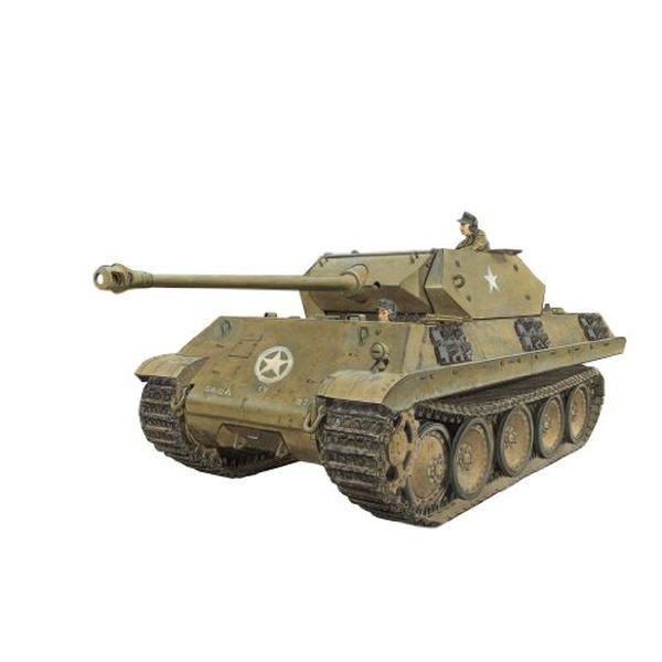 グリーンボックス 1/35 WW.II ドイツ軍 M10パンター(偽装戦車) グライフ作戦 1944 プラモデル