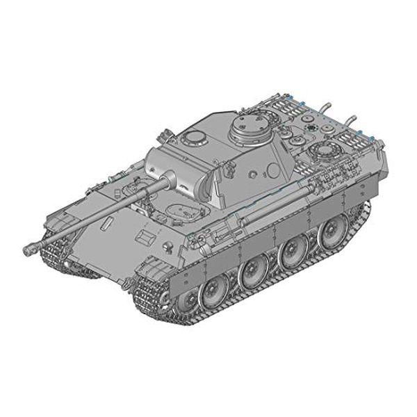 ドラゴン 1/35 第二次世界大戦 ドイツ軍 パンターD型/パンタートーチカ 2in1 プラモデル DR6940