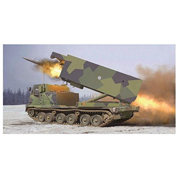 【沖縄へ発送不可です】トランペッター 1/35 フィンランド/オランダ陸軍 MLRS 多連装ロケットシステム プラモデル 01047
