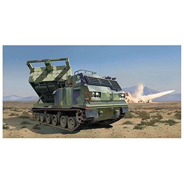トランペッター 1/35 アメリカ陸軍 M270/A1 MLRS 多連装ロケットシステム プラモデル 01049