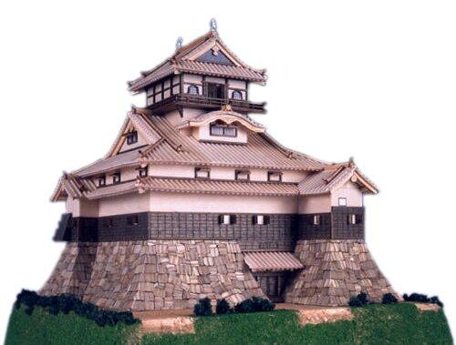 木製 1/150 犬山城