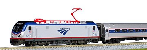 KATO 10-710-2 アムトラック ACS-64・アムフリート 5両セット 【北海道・九州は300円、沖縄は1300円別途料金が加算されます】