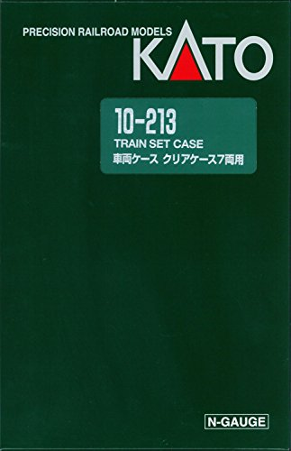 Nゲージ 10-213 車両ケースD 在庫一掃売り切りセール 7両用 内祝い クリアケース