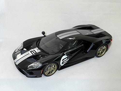 京商 GTS001US GT SPIRIT 1/18 フォード GT(ブラック/シルバーストライプ)【北海道・九州は300円、沖縄は1300円別途料金が加算されます】