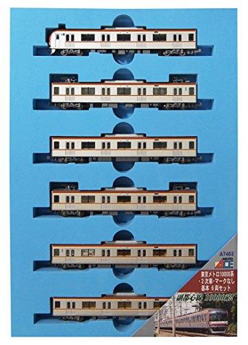 【沖縄へ発送不可です】マイクロエース Nゲージ 東京メトロ10000系・2次車・マークなし 基本6両セット A7463 鉄道模型 電車