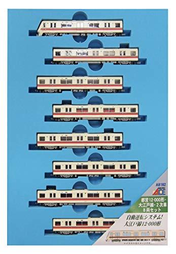 【沖縄へ発送不可です】マイクロエース Nゲージ 都営12-000形・大江戸線・2次車 8両セット A8182