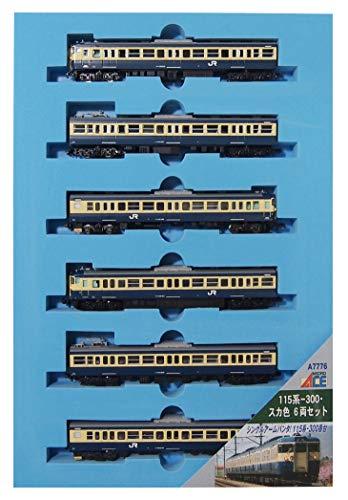 【沖縄へ発送不可です】マイクロエース Nゲージ 115系-300・スカ色 6両セット A7776 鉄道模型 電車