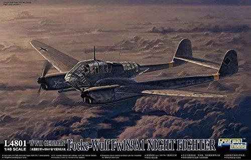 1/48 WWII ドイツ空軍 フォッケウルフ Fw189A-1 夜間戦闘機