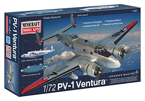 ミニクラフト 1/72 アメリカ海軍 PV-1 ヴェンチュラ プラモデル MC11681