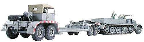 1/35 ミリタリーミニチュアシリーズ 18t重ハーフトラック戦車運搬車 【北海道・九州は250円、沖縄は1600円別途料金が加算されます】