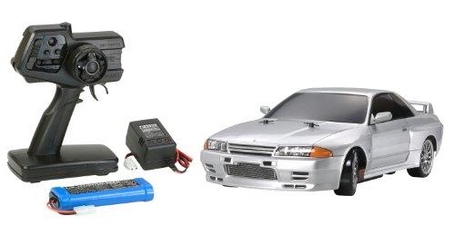 1/10 XBシリーズ No.83 XB スカイライン GT-R (R32) (TT-01D) 2.4GHz プロポ付き塗装済み完成品 57783 【北海道・九州は300円、沖縄は2000円別途料金が加算されます】