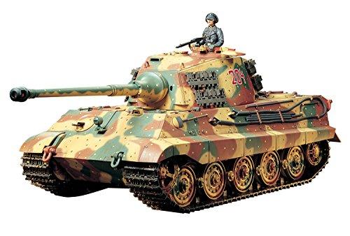 1/16 ラジオコントロールタンクシリーズ No.17 ドイツ重戦車 キングタイガー (ヘンシェル砲塔) フルオペレーションセット (4チャンネルプロポ、バッテリー、充電器付き) 56017 【北海道・九州は200円、沖縄は3000円別途料金が加算されます】