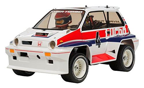 1/10 電動RCカーシリーズ No.611 Honda シティターボ (WR-02Cシャーシ) 58611 【北海道・九州は300円、沖縄は2000円別途料金が加算されます】