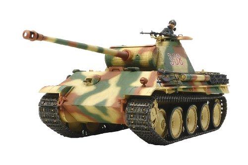 タミヤ 1/35 戦車シリーズ No.55 ドイツ陸軍 パンサーG 初期型 シングルモーターライズ仕様 プラモデル 30055