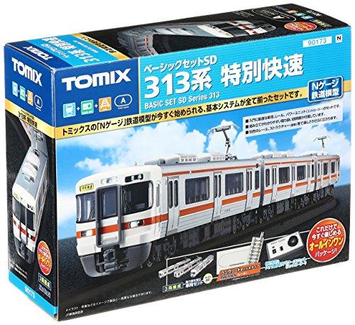 【沖縄へ発送不可です】TOMIX Nゲージ ベーシックセットSD 313系 特別快速 90173 鉄道模型 入門セット