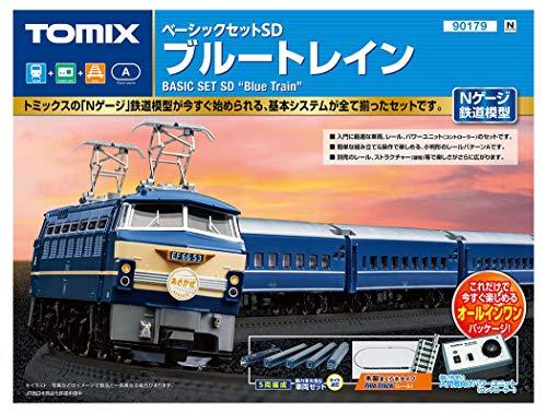 【沖縄へ発送不可です】TOMIX Nゲージ ベーシックセットSD ブルートレイン 90179 鉄道模型入門セット