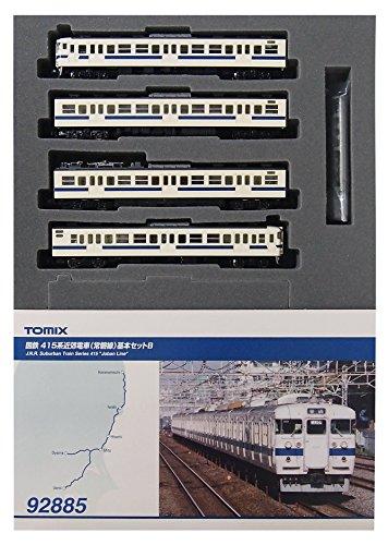 TOMIX Nゲージ 92885 415系近郊電車 (常磐線)基本セットB (4両)
