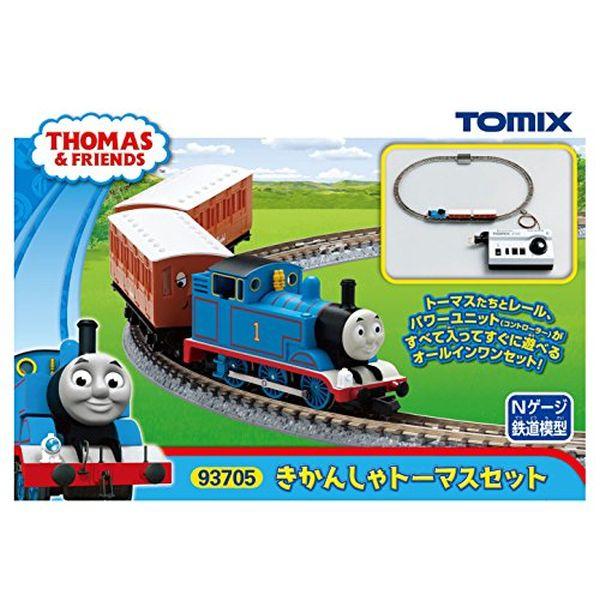 TOMIX Nゲージ きかんしゃトーマスセット 93705 鉄道模型 入門セット