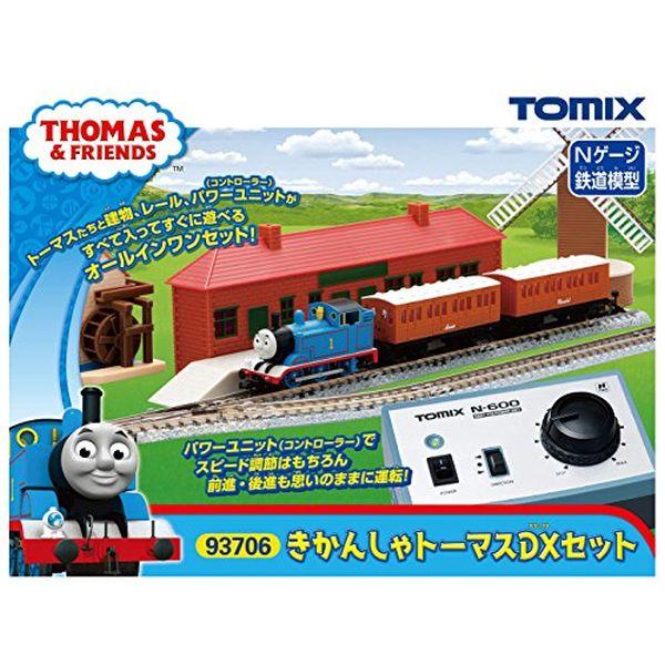 TOMIX Nゲージ きかんしゃトーマスDXセット 93706 鉄道模型 入門セット