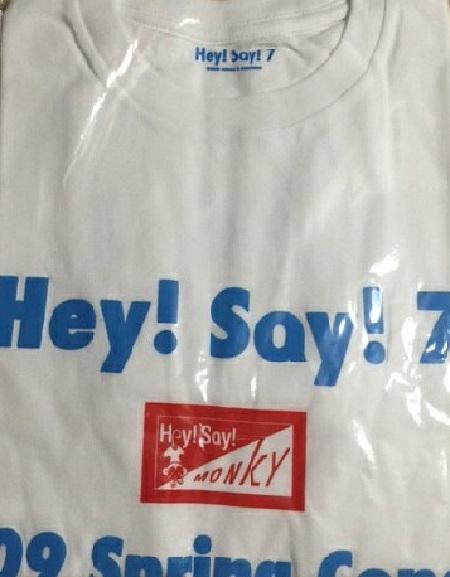 【新品】Hey!Say!JUMP・・【 Tシャツ】・HEY SAY 7 tour☆ コンサート会場販売グッズ