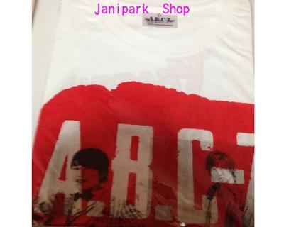 A.B.C-Z・【Tシャツ】☆ 2015・Early Summer TOUR ☆コンサート会場販売グッズ