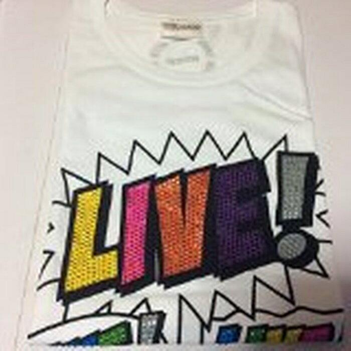 【中古】 NEWS・【Tシャツ】・LIVE!LIVE!LIVE! Tour