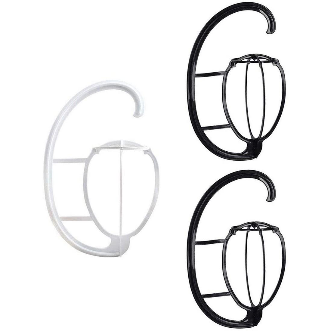 ウィッグスタンド 組み立て式 3個セット ウィッグハンガー 型崩れ防止 帽子スタンド 安定性よい ウィッグ乾燥用 贈答 携帯用 軽量 期間限定特価品 カビにくい