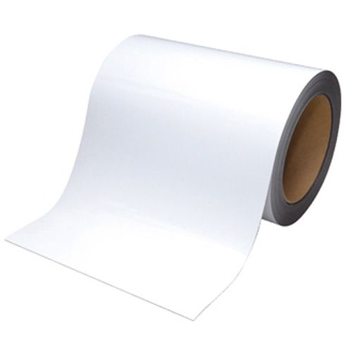 【キャッシュレス5%還元】マグエックス マグネットロール 幅200mm×長さ10m×厚さ0.8mm 白ツヤ 1巻
