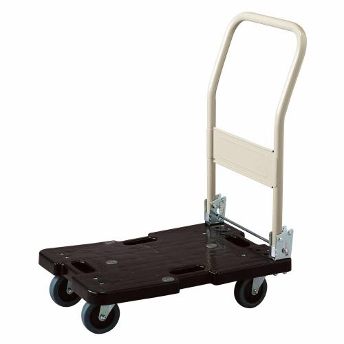 【キャッシュレス5%還元】【送料無料】【法人(会社・企業)様限定】樹脂運搬車(4輪自在) 120kg荷重 1台