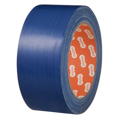 【キャッシュレス5%還元】【送料無料】【法人(会社・企業)様限定】布テープ(カラー) 50mm×25m 青 1セット(30巻)