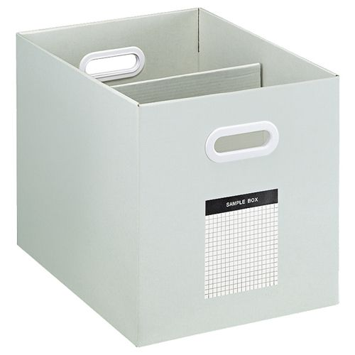 コクヨ サンプルボックス(ワイドタイプ) A4ヨコ 背幅256mm グレー 1セット(10個)