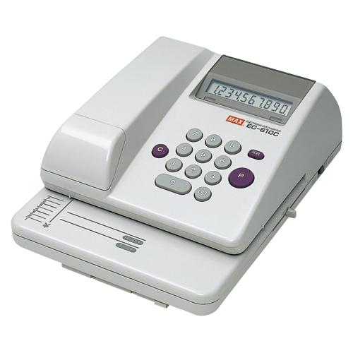 【キャッシュレス5%還元】マックス チェックライター EC-610C EC-610C【返品・交換・キャンセル不可】【イージャパンモール】