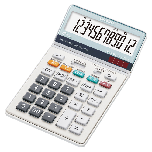 ★まとめ買い★シャープ 電卓 EL-N732K ×5個【返品・交換・キャンセル不可】【イージャパンモール】