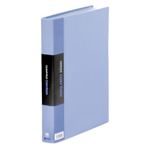 【キャッシュレス5%還元】【送料無料】【法人(会社・企業)様限定】KING JIM カラーベーストリプル A4タテ 60ポケット 背幅35mm 青 1セット(5冊)