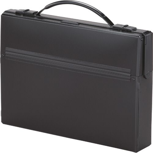 【キャッシュレス5%還元】【送料無料】【法人(会社・企業)様限定】LIHIT LAB ダレスバッグ A4 収納幅55mm 黒 1セット(5個)